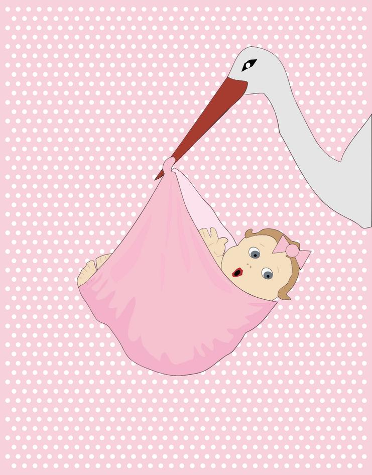 Přání k narození dítěte, přáníčka, blahopřání - dítě přáníčko
